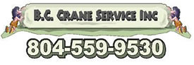 B.C. Crane Service, Richmond, VA